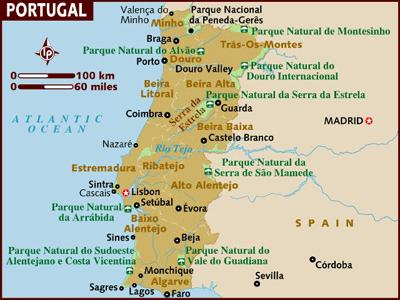 Festivals Events Portugal Europe Travel With Chris Best - Portugal map braga